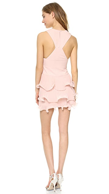 BCBGMAXAZRIA Priscilla Ruffle Layer Dress