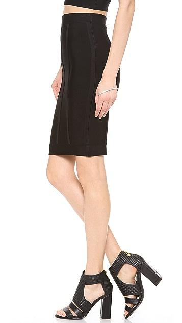 BCBGMAXAZRIA Nita Pencil Skirt
