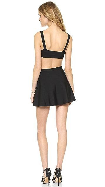BCBGMAXAZRIA Elyzabeth Cutout Dress
