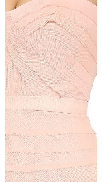 BCBGMAXAZRIA Cocco Strapless Dress