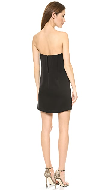 BCBGMAXAZRIA Nahara Strapless Dress