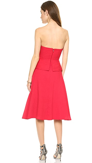 BCBGMAXAZRIA Tessa Strapless Dress
