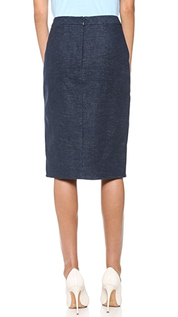 BCBGMAXAZRIA Grayce Skirt with Slit