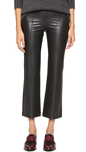 567109c95fa70 BCBGMAXAZRIA Faux Leather Cropped Pants | SHOPBOP