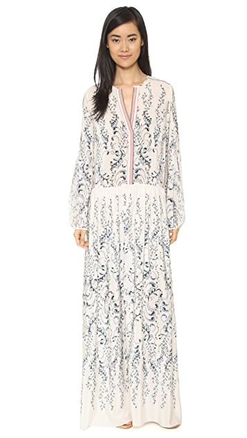 BCBGMAXAZRIA Scrolled Garden Dress