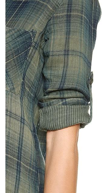 Bella Dahl Long Sleeve Pullover Placket Shirt