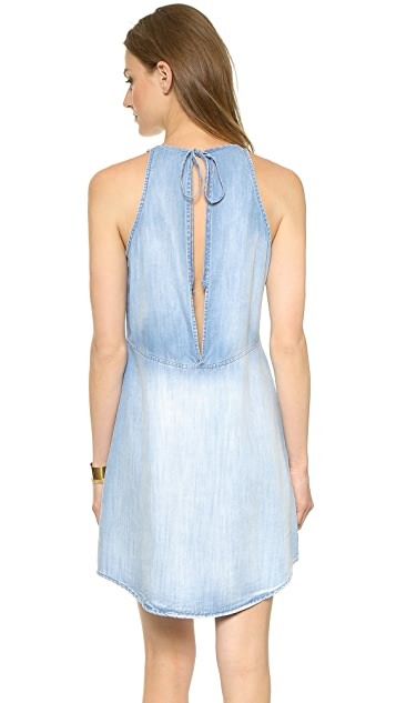 Bella Dahl Open Back Halter Dress