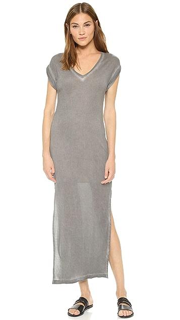Bella Dahl Side Split T-Shirt Dress