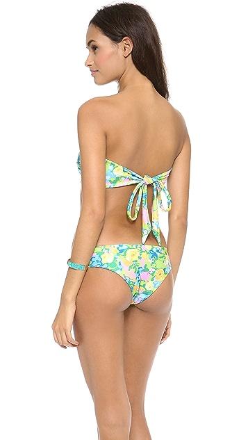 Beach Riot Biscayne Deco Bikini Top