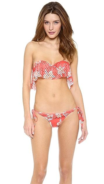 Beach Riot Coral Gables Bandeau Bikini Top