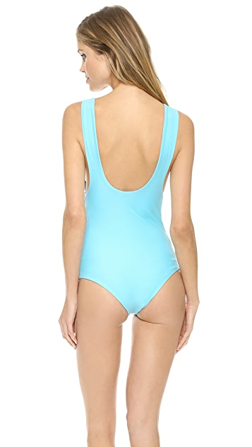 Beach Riot The Golden Coconut One Piece Swimsuit