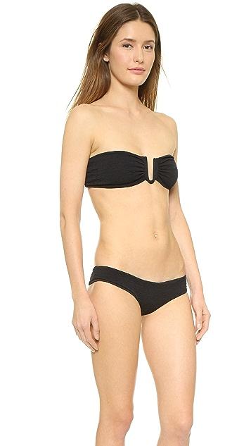 Beach Riot Stone Cold Fox Peony Bikini Top