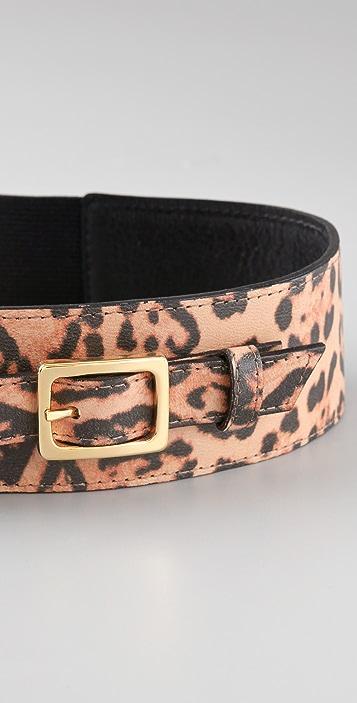 BE & D Quinn Leopard Belt