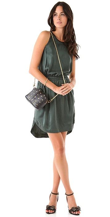 BE & D Pippa Python Cross Body Bag