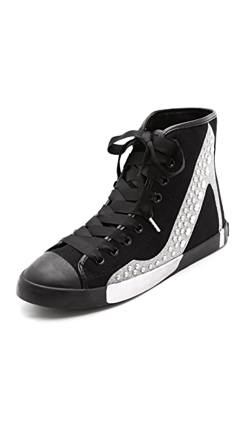 BE & D Hey Stud Sneakers