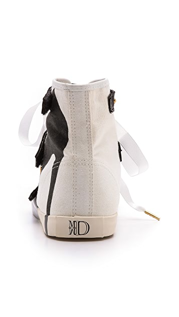 BE & D Maison Dumain 3 Straps Sneakers
