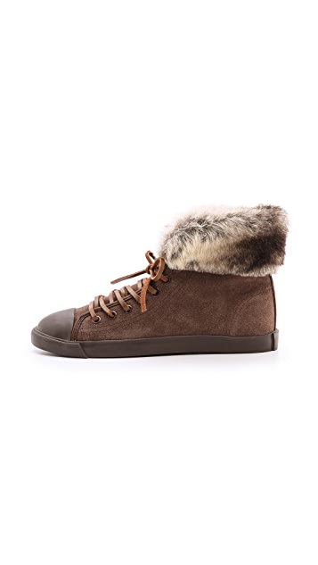 BE & D Maison Dumain Fredrik Suede Sneakers