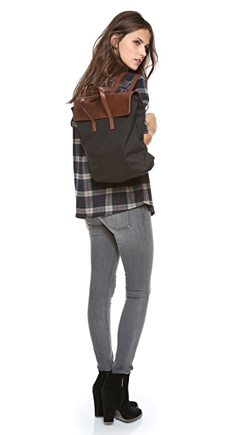 BE & D Maison Dumain Canvas Backpack