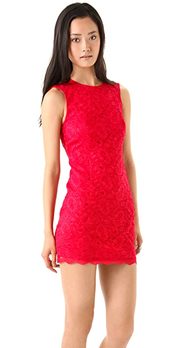 Bec & Bridge Lace Backless Dress