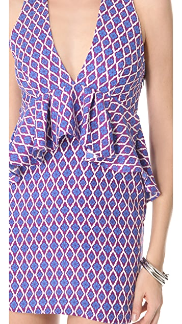 Bec & Bridge Fiorella Peplum Dress
