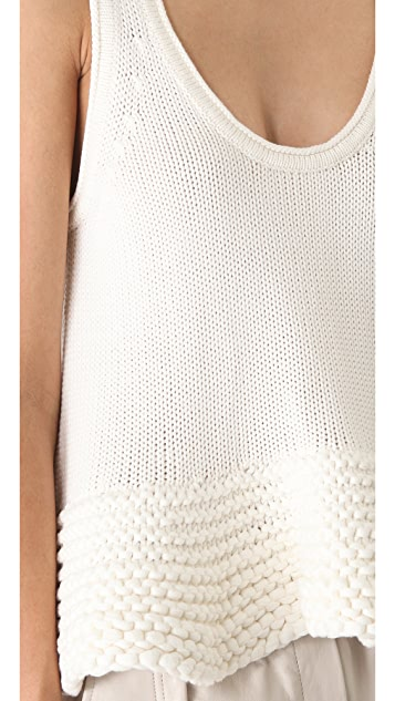 Bec & Bridge Blanco Knitted Top
