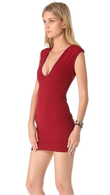 Bec & Bridge Reversible Rib V Dress