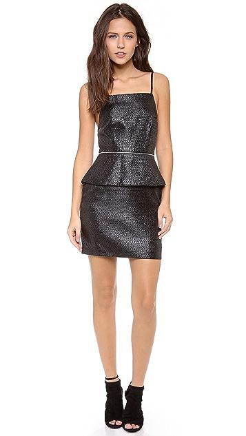 Bec & Bridge Pop Peplum Dress