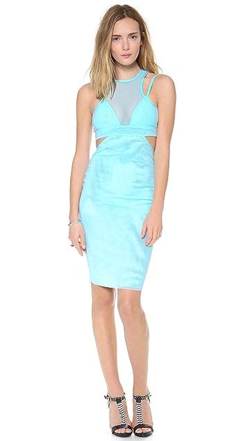 Bec & Bridge Kathy Mesh Body Dress
