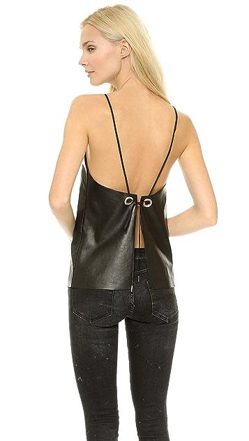 Bec & Bridge Easy Rider Leather Camisole