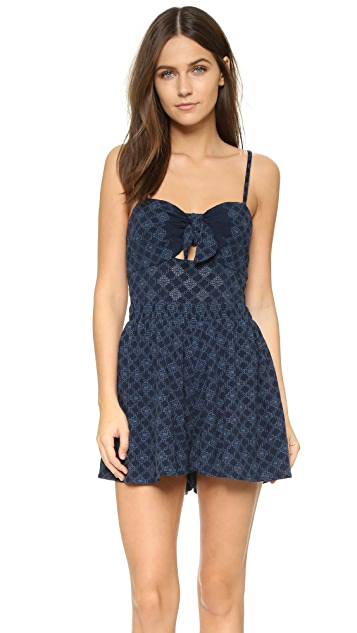 Bec & Bridge Embroidered Romper