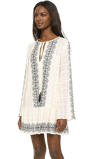 Boheme Long Sleeve Dress in Ivory Bec&bridge Cheap Sale Professional Best Wholesale Sale Online LUXBCl