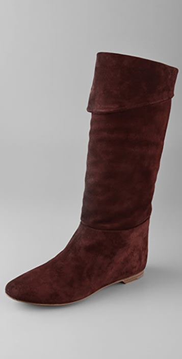 Belle by Sigerson Morrison Knee High Cuff Flat Boots