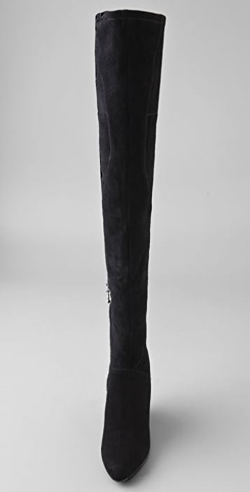 Belle by Sigerson Morrison Stretch Mid Thigh Wedge Boots