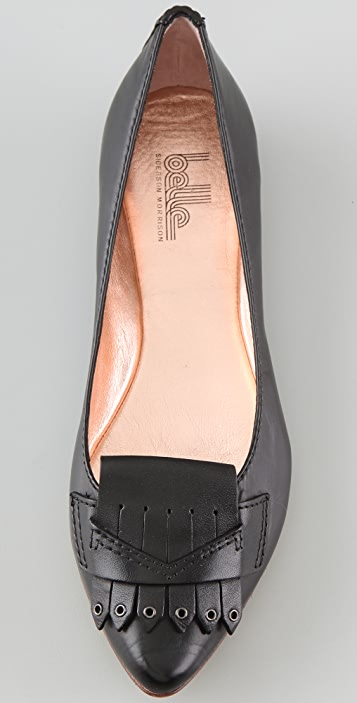 Belle by Sigerson Morrison Kilty Tapered Toe Flats