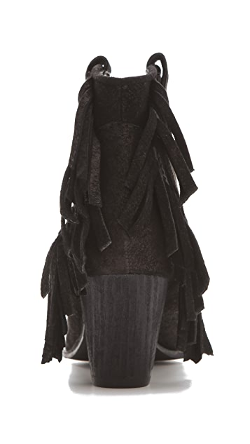 Belle by Sigerson Morrison Scarlett Fringed Booties