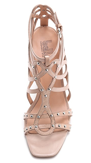 Belle by Sigerson Morrison Ola Laser Cut Sandals