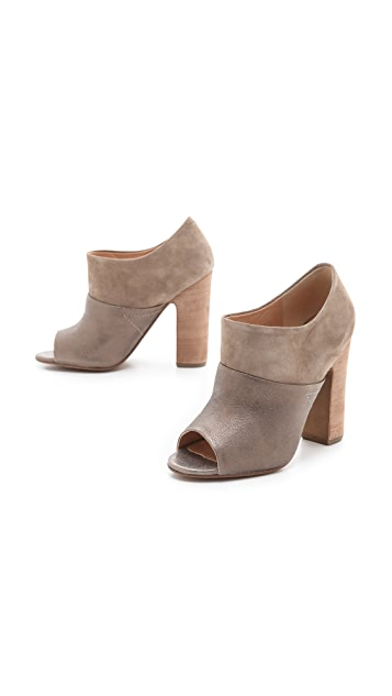 Belle by Sigerson Morrison Beatles Suede Slide Booties