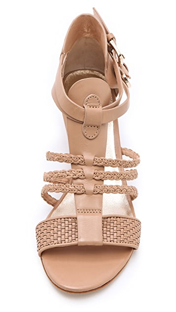 Belle by Sigerson Morrison Alma Low Wedge Sandals
