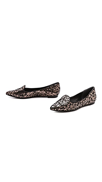 Belle by Sigerson Morrison Sadie Point Toe Loafers