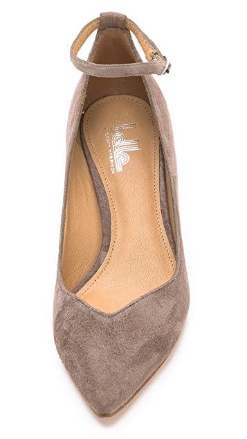 Belle by Sigerson Morrison Waverly Low Wedge Pumps