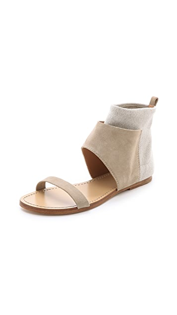 Belle by Sigerson Morrison Bristol Cuffed Flat Sandals