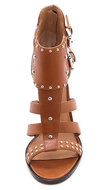 Belle by Sigerson Morrison Bruna Studded Sandals