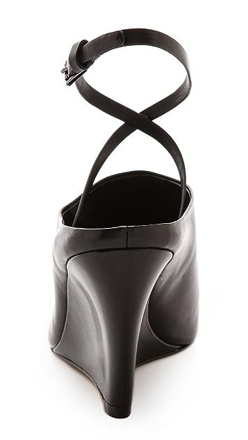 Belle by Sigerson Morrison Fresco Ankle Strap Mules