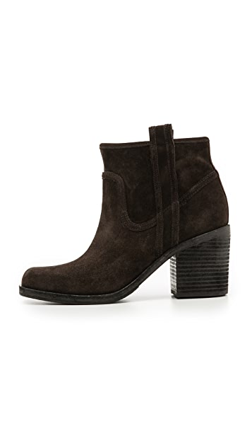 Belle by Sigerson Morrison Lagoon Square Toe Booties
