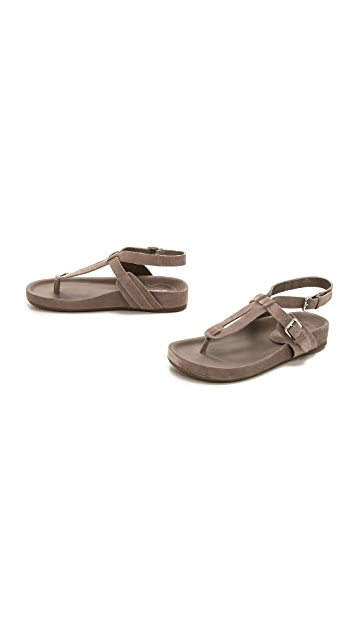 Belle by Sigerson Morrison April Suede Sandals