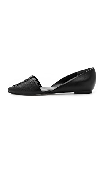 Belle by Sigerson Morrison Veda Woven Flats
