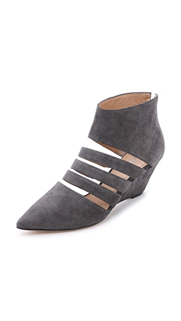 Belle by Sigerson Morrison Wilma Suede Wedges