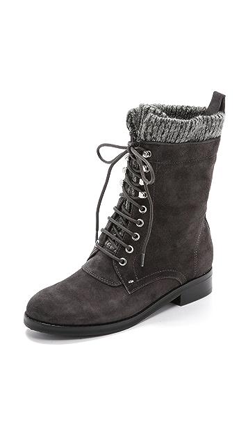 Belle by Sigerson Morrison Gretchen Lace Up Boots
