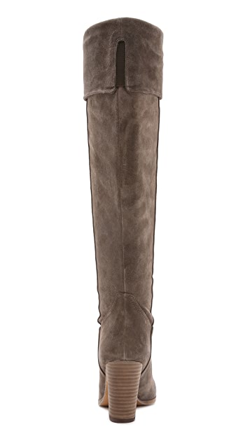 Belle by Sigerson Morrison Honey Suede Knee Boots