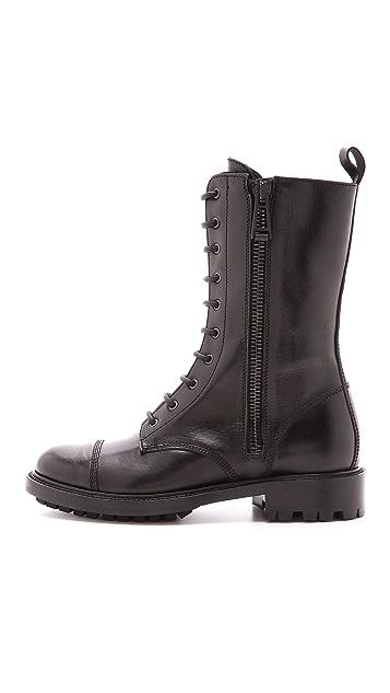 Belstaff Combat Boots
